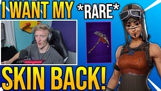 Tfue Explains Why He Wants The *RARE* Renegade Raider Skin To Come BACK To Fortnite
