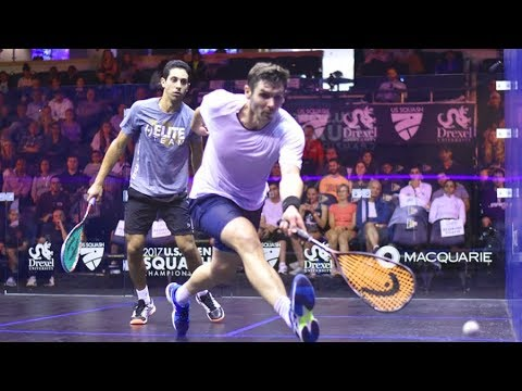 Squash coaching: How to play against left handers!