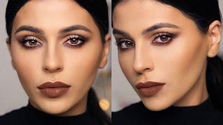 Nighttime Neutral Makeup Tutorial  | Teni Panosian by Teni Panosian