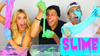 Video OUR VERY FIRST SLIME!! | CROESBROS Ft. REBECCA ZAMOLO MP3, 3GP, MP4, WEBM, AVI, FLV Maret 2018