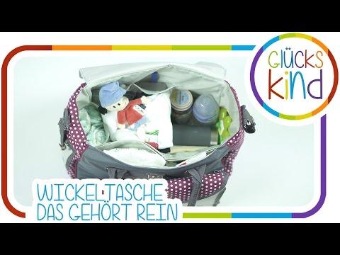Die Wickeltaschen Checkliste - Was gehört in eine Wickeltasche? BabyBlog