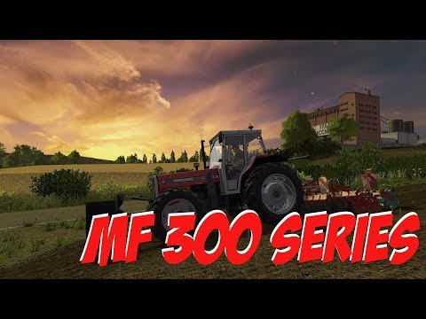 Massey Ferguson 300 Series Pack v1.0