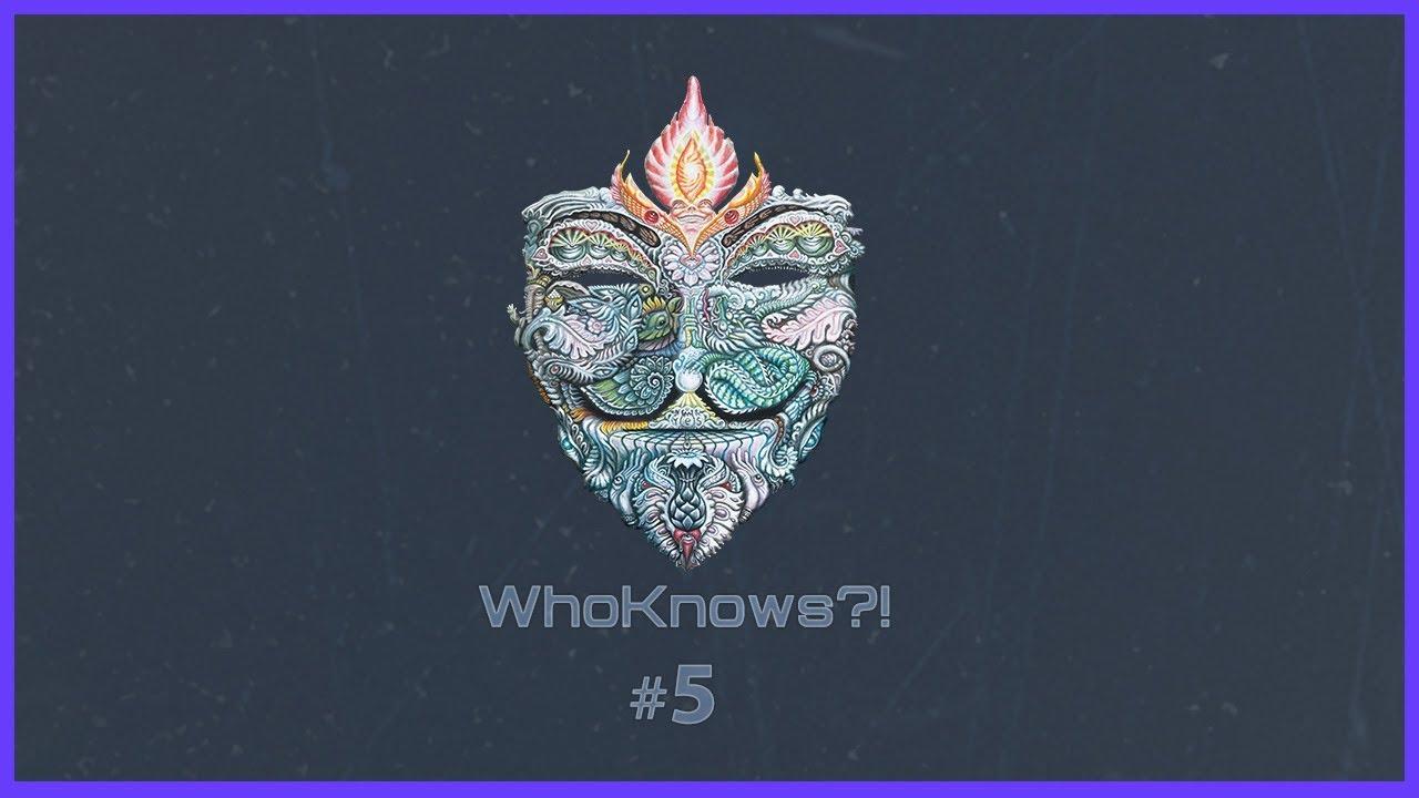 ✺ WhoKnows?! ✺ #5 – Wir suchen des Lösungs Rätsel