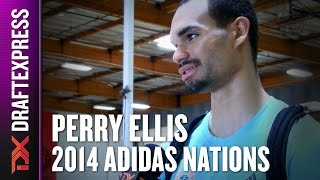 2014 Perry Ellis Interview - DraftExpress - Adidas Nations