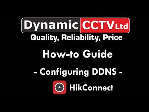 tech - HikConnect - Configuring DDNS