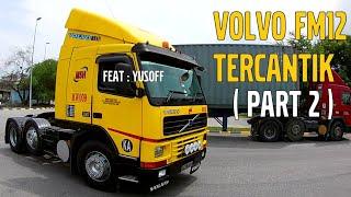 Video EXCLUSIVE part 2   VOLVO FM12 V1 TERCANTIK  (EKEN H9R) MP3, 3GP, MP4, WEBM, AVI, FLV Desember 2018
