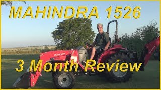 7. Mahindra 1526 Shuttle 3 month review