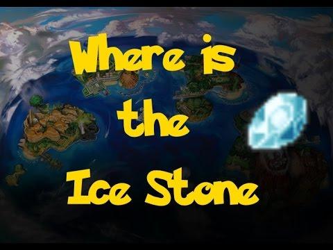 Where Is: The Ice Stone (Pokemon Sun/Moon)