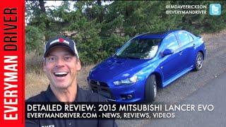 2. Here's the 2015 Mitsubishi Lancer EVO MR on Everyman Driver