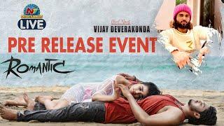 Romantic Pre Release Event LIVE | Akash Puri | Ketika Sharma | Vijay Devarakonda