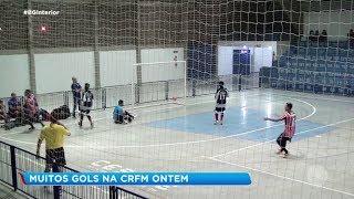 Duas partidas agitaram Pirajuí pela Copa Record de Futsal Masculino