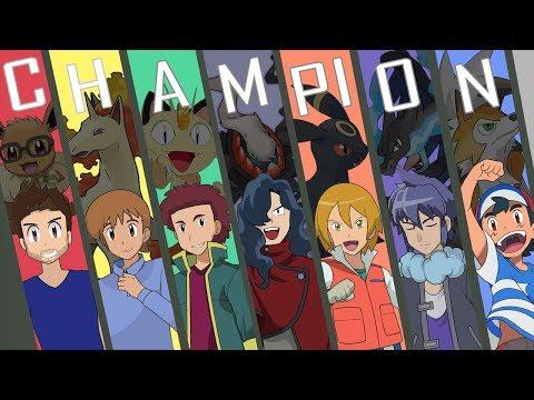 Pokemon League Champions in Anime