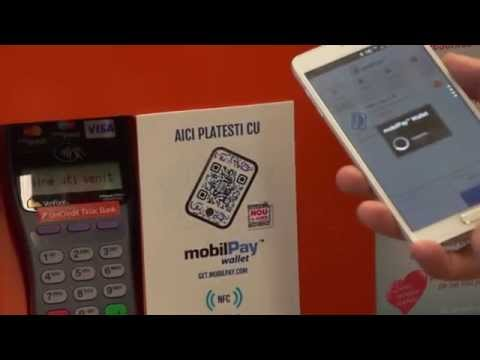 Video of mobilPay Wallet