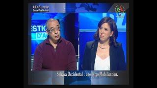 Sahara Occidental : Une large mobilisation | Questions d'Actu