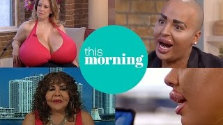 Video Extraordinary People With Extreme Cosmetic Surgery | This Morning MP3, 3GP, MP4, WEBM, AVI, FLV Juli 2018