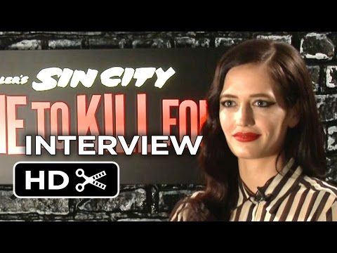 Sin City: A Dame To Kill For Interview - Eva Green (2014) - Graphic Novel Movie HD