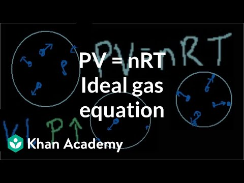 Chemistry: Ideal gas laws