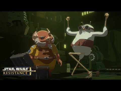 Treasure Chest | Star Wars Resistance | Disney Channel
