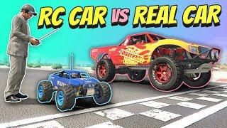 Video GTA 5 | RC car vs REAL car MP3, 3GP, MP4, WEBM, AVI, FLV September 2019