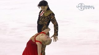 Weaver And Poje Lead In 2014 Skate Canada - Universal Sports