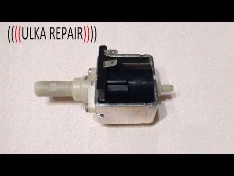 ulka pump repair clean test , réparation nettoyage teste pompe ulka