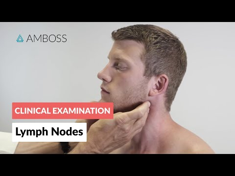Examination of the lymph nodes - Clinical examination | Δ AMBOSS