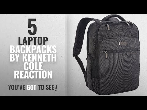 Top 10 Kenneth Cole Reaction Laptop Backpacks [2018]: Kenneth Cole Reaction The Brooklyn Commuter