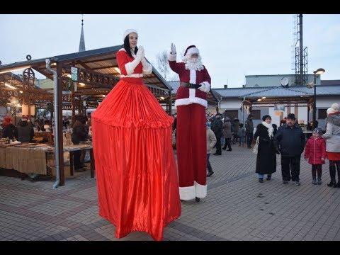 Wideo1: Jarmark Mikołajkowy w Czempiniu
