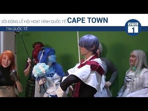 Sôi động lễ hội hoạt hình quốc tế Cape Town | VTC1 - Thời lượng: 2 phút, 2 giây.