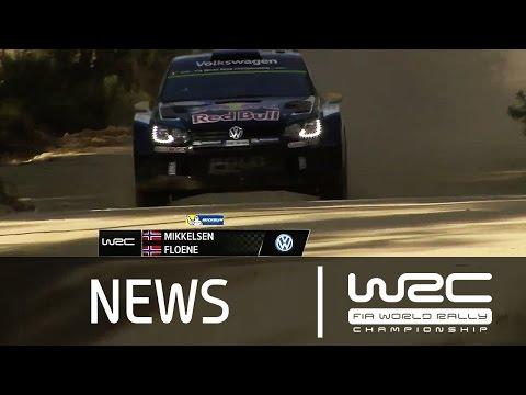 Vídeo resumen shakedown WRC Rallye de Portugal 2015 by WRC
