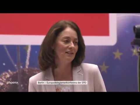 Europadelegiertenkonferenz der SPD in Berlin am 09.12 ...