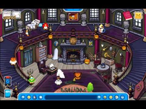 Club penguin | Guía para la búsqueda de fantasmas y más (Octubre 2011)