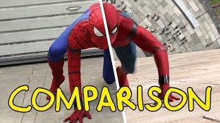 Video Spider-Man: Homecoming - Homemade Side by Side Comparison MP3, 3GP, MP4, WEBM, AVI, FLV Oktober 2017