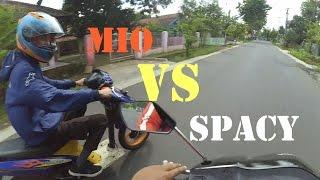 Video Kejar-Kejaran Mio VS Spacy   sekalian testride   Indonesia Motovlog MP3, 3GP, MP4, WEBM, AVI, FLV November 2017