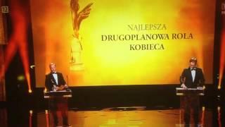 Maciej Stuhr – Orły 2016 śmieszne