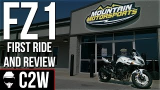 2. Yamaha FZ1 - First Ride and Review