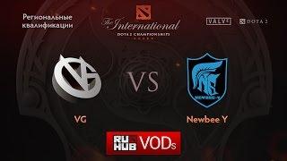 VG vs Newbee.Y, game 1