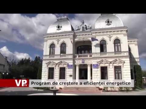Program de creştere a eficienţei energetice