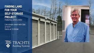 Finding Land for your Self-Storage Project