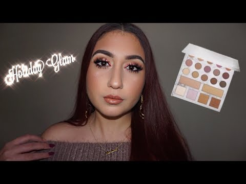 CARLI BYBEL DELUXE PALETTE HOLIDAY GLAM | deardollmakeup