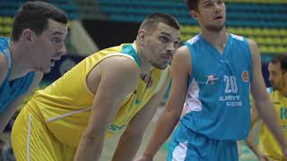 Hightlits of the match National league: «Astana» — «Almaty Legion» (Game 1)