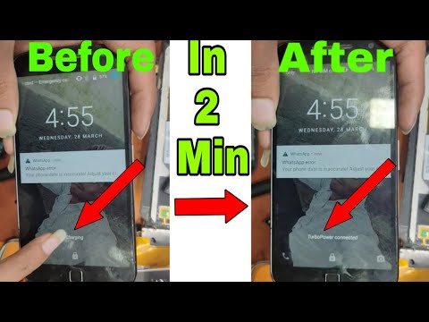 Moto G4 Plus Charging problem solution || FIX SLOW CHARG Problem || Tarbo Charging