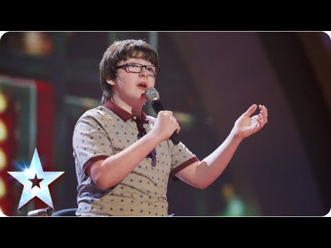 Jack Carroll and his funny bones stand up routine | Final 2013 | Britain's Got Talent 2013