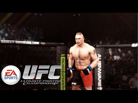 EA Sports UFC - Brock Lesnar Vs. Frank Mir: UFC Heavyweight Championship | PS4 Gameplay