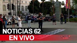 Emotiva vigilia en Los Ángeles – Noticias 62    - Thumbnail