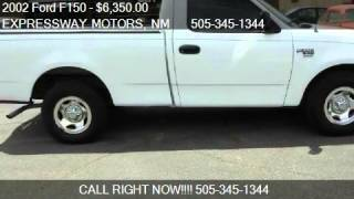 2002 Ford F150 XL Short Bed 2WD - for sale in ALBUQUERQUE, N