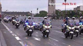 Video Vidéo du 1er cortège officiel d'Emmanuel Macron MP3, 3GP, MP4, WEBM, AVI, FLV Juni 2017