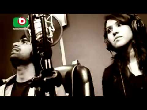 Download BANGLA NEW SONG OF 2014 IMRAN FT PUJA MANENA MON Studio HD Mp4 3GP Video and MP3