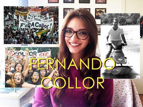 Resumo de História: FERNANDO COLLOR - governo e impeachment (Débora Aladim)