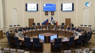 Состоялось первое заседание Правительства области под руководством Андрея Никитина